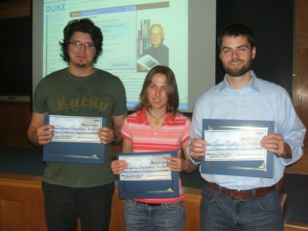 2009 Utku Award Winners