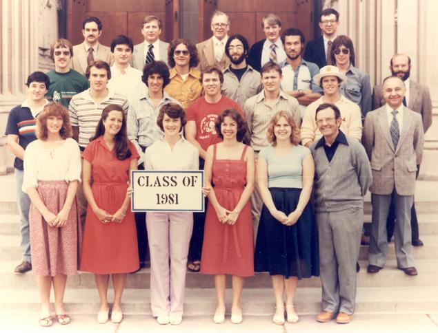 Undergraduate Class of 1981