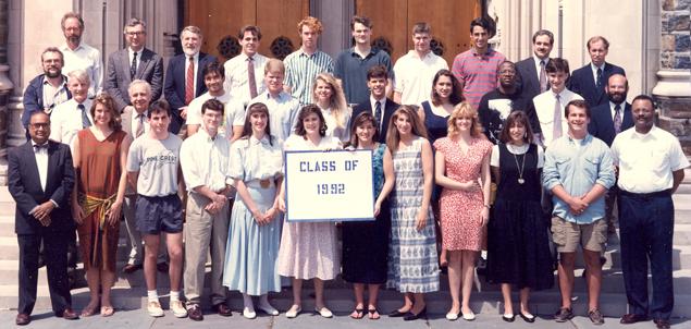 Undergraduate Class of 1992