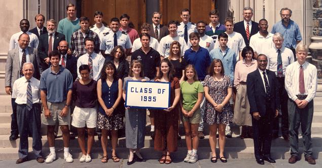 Undergraduate Class of 1995