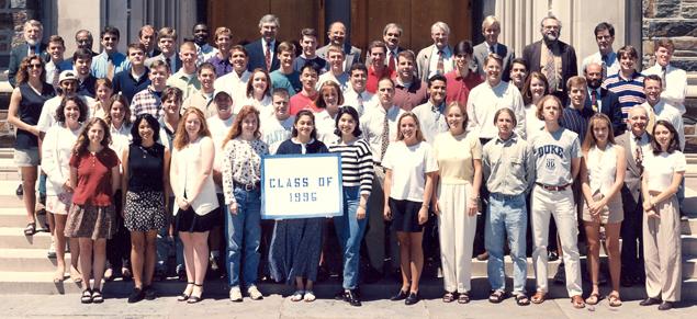 Undergraduate Class of 1996