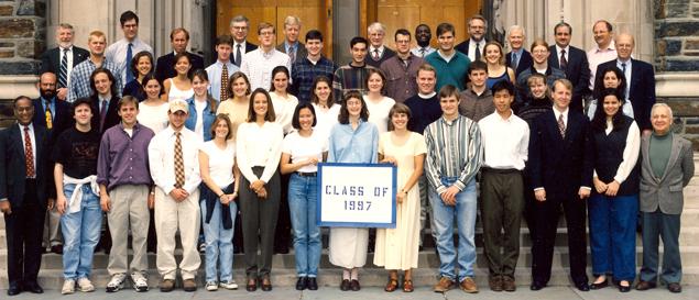 Undergraduate Class of 1997