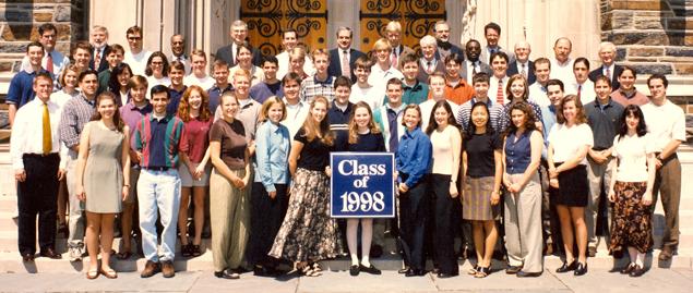 Undergraduate Class of 1998