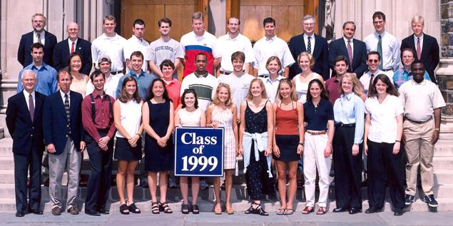 Undergraduate Class of 1999