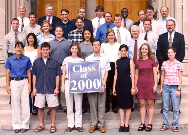 Undergraduate Class of 2000