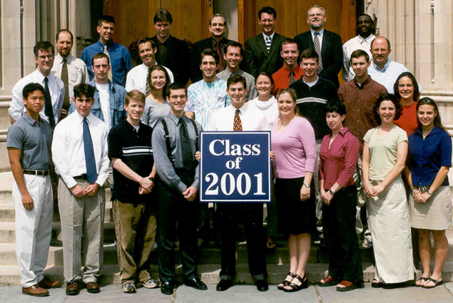 Undergraduate Class of 2001