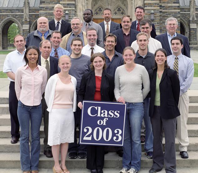 Undergraduate Class of 2003