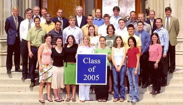 Undergraduate Class of 2005
