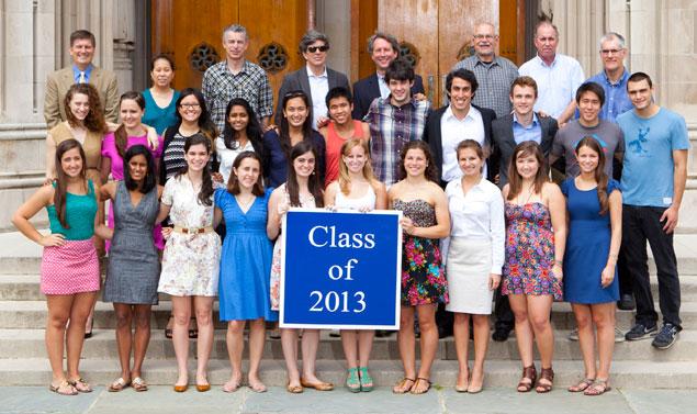 Undergraduate Class of 2013
