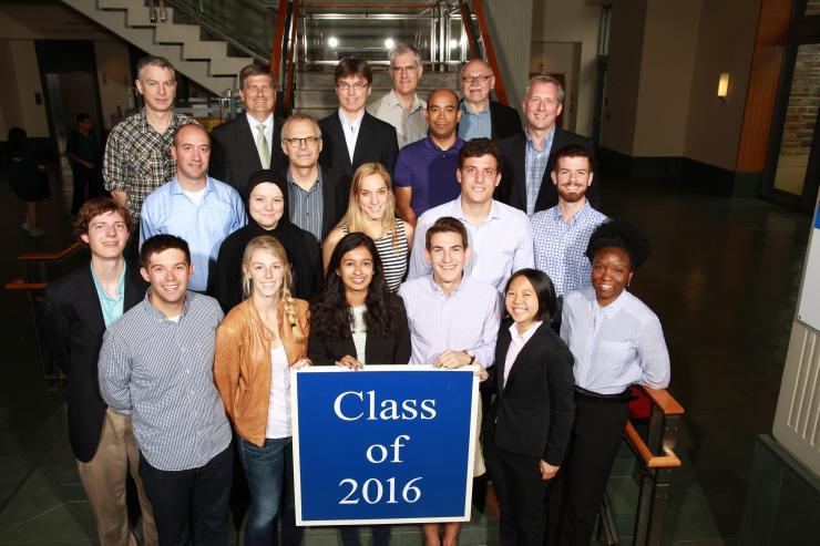 Undergraduate Class of 2016
