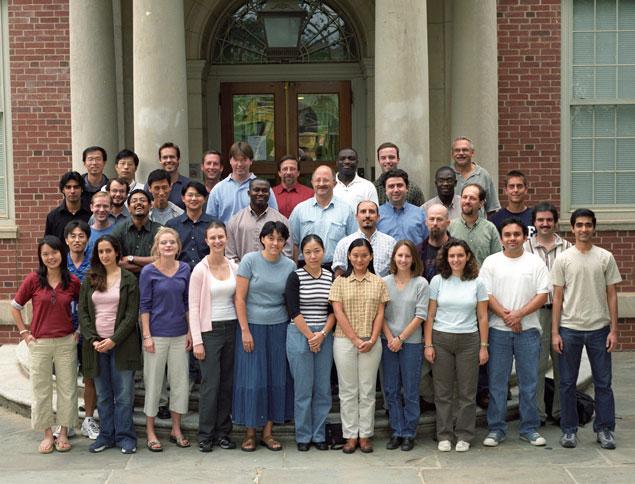 Graduate Student Class of Fall 2002