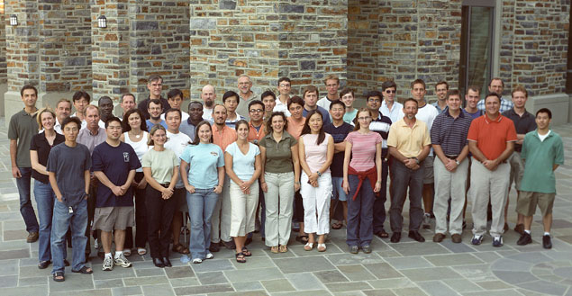 Graduate Student Class of Fall 2004