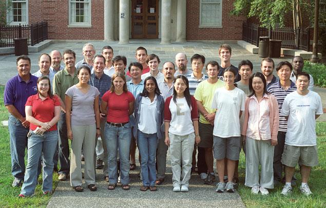 Graduate Student Class of Fall 2005