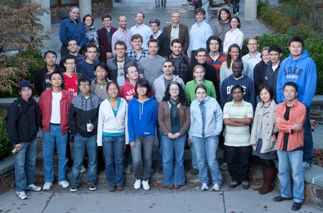 Graduate Student Class of Fall 2010
