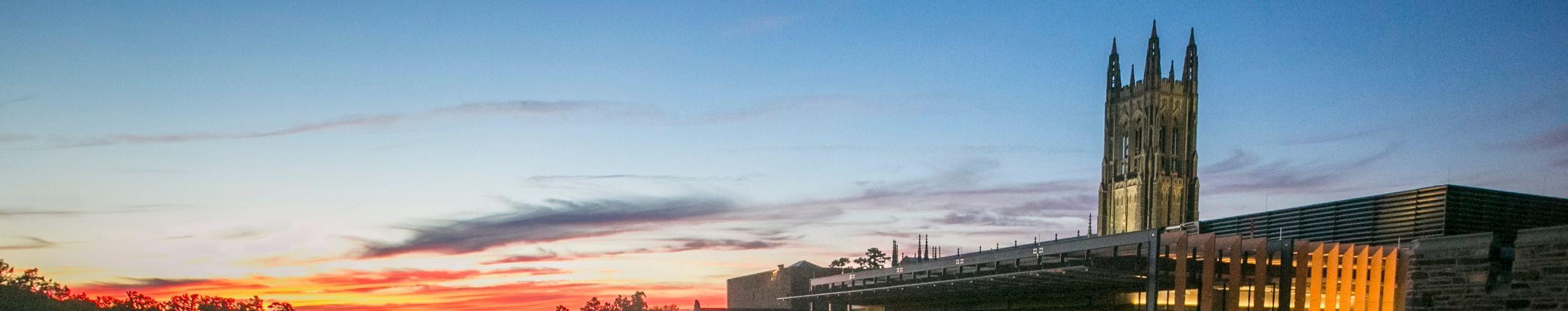 west union at twilight