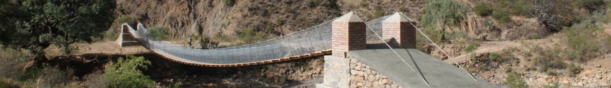 bridge built by DEID students