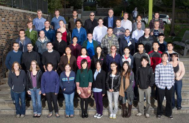 Graduate Student Class of Fall 2011