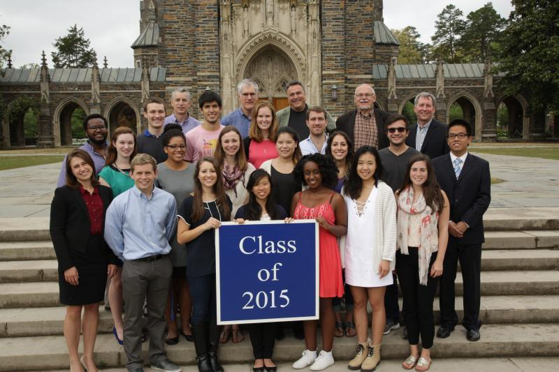 Duke Civil and Environmental Engineering Class of 2015