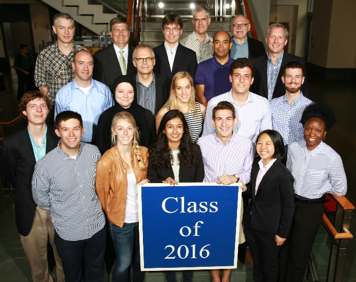 Duke Civil and Environmental Engineering Class of 2016
